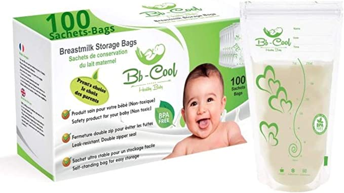 Pot conservation lait maternel :  Comment faire le bon choix ?
