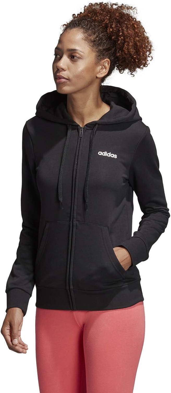 adidas damen sweatjacke essentials solid fullzip hoodie langarm
