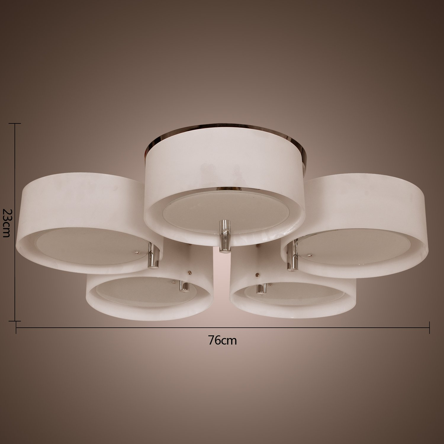 LightInTheBox Modern Acrylic Chandelier with 5 lights Flush Mount