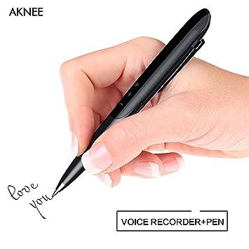 Grabadora,/8G grabación digital Pen, grabadora, reproductor ...