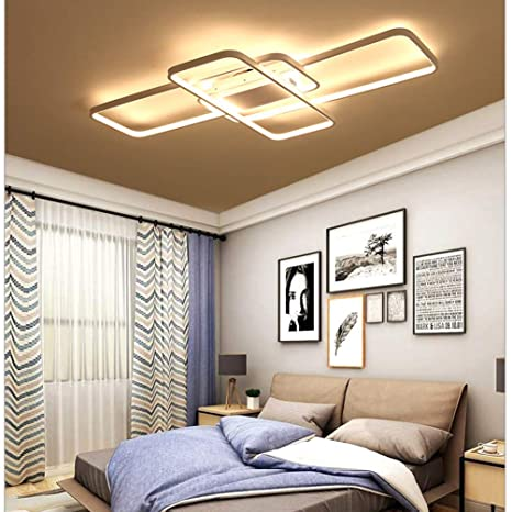 68W Moderno LED Lámpara de techo Lampara de salon Diseño 3 ...