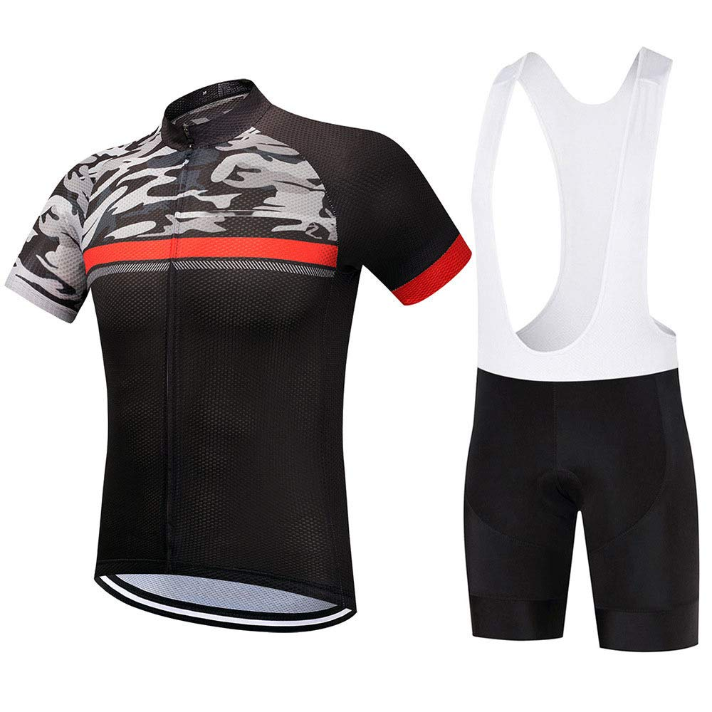 B Small Laogg Mens Cycling Jersey Half Sleeve Biking Top Outdoors Bike Shirt Sportswear