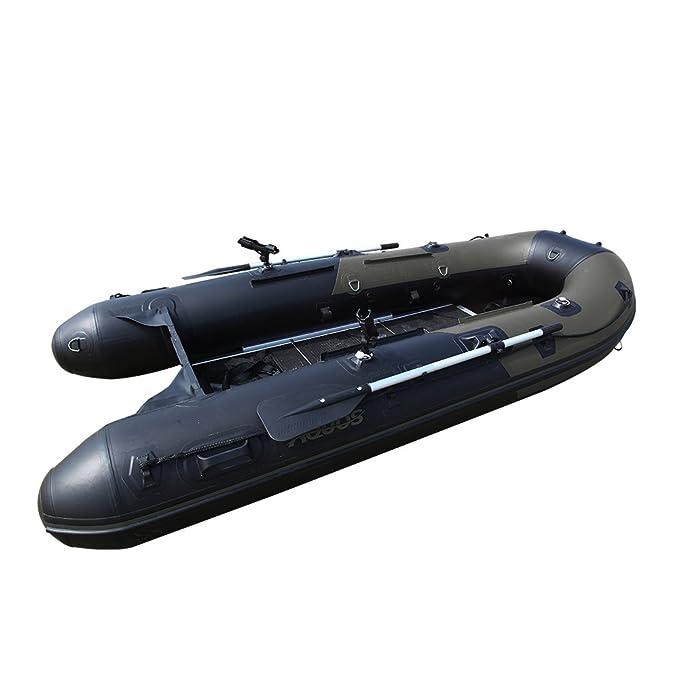 Aquos 2016 Nueva Pescador 0,9 mm PVC 12,5 Hinchable Barco ...