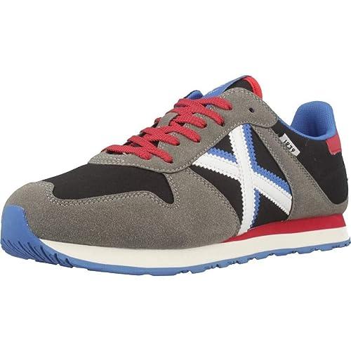 28d926ae65d Tenis Munich Massana 326 Negro y Gris Hombre  Amazon.es  Zapatos y ...