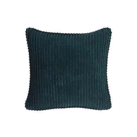 Ixia - Cojín Terciopelo Verde Terciopelo 45 x 45 cm: Amazon ...