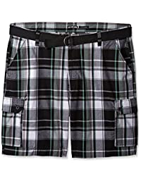 Ecko Unltd. mens Salem Plaid Cargo Short