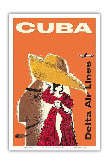 Pacifica Island Art Cuba-Delta Air Lines-bailarín Cubano ...