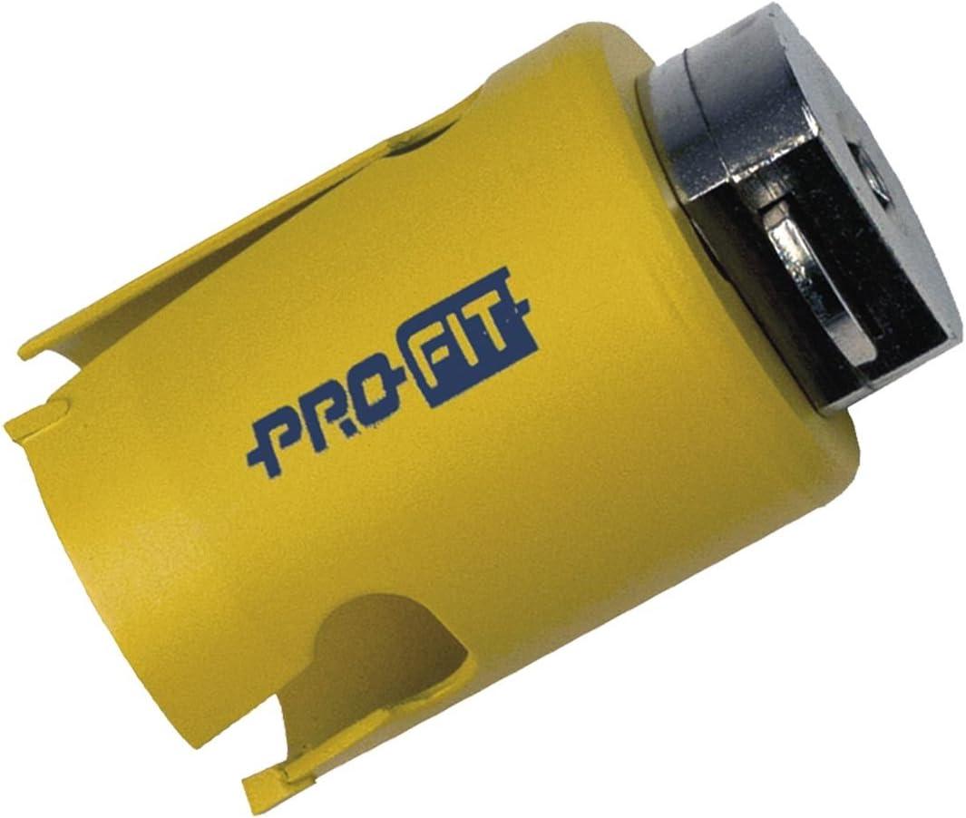 diam/ètre 25/mm PRO Fit 97109081025/HW Multi Purpose Scie cloche profondeur de coupe 52/mm