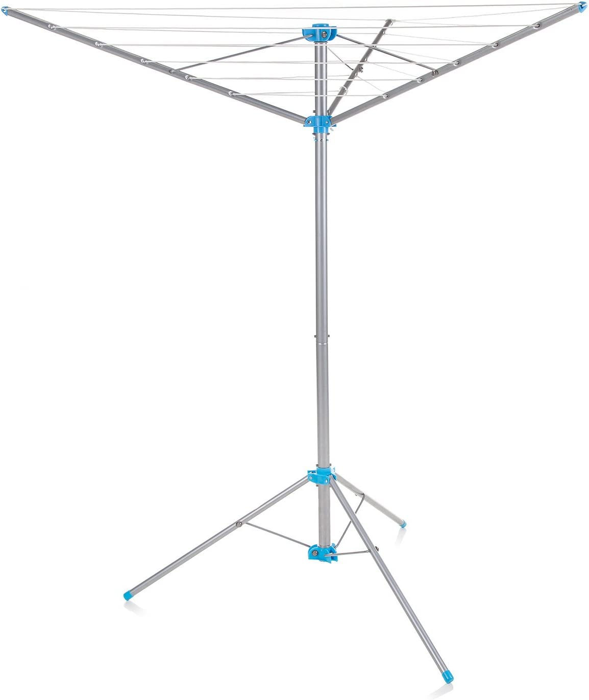 Minky Freestanding Indoor/Outdoor Airer with 15 m Drying Space, Metal, Silver