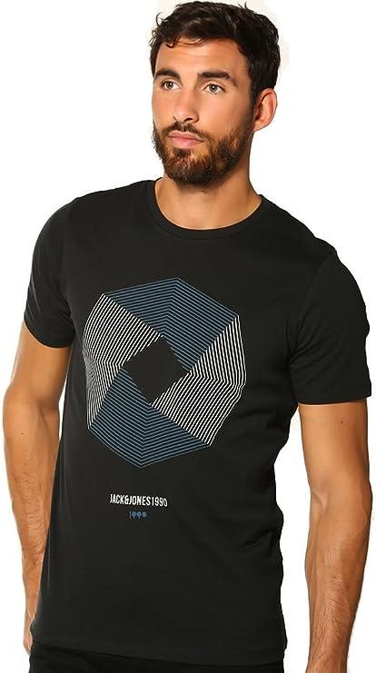 Camiseta de cuello redondo Core Booster de Jack & Jones, hombre ...