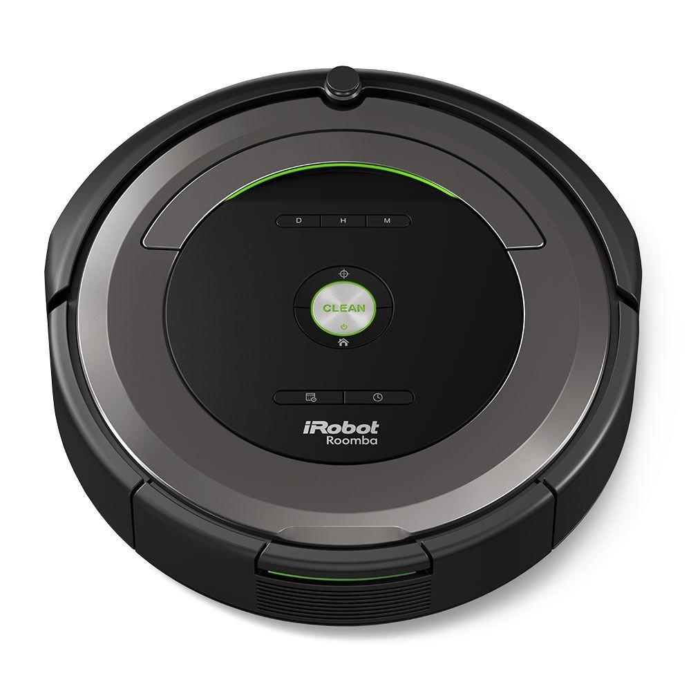 iRobot roomba681 Robot aspiradora Potencia 33 W Color Negro: Amazon ...