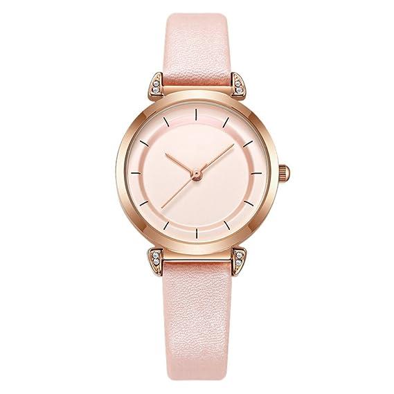 Reloj de pulsera para mujer, elegante, de moda, de cuarzo, correa de
