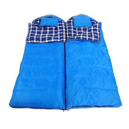 LE Saco de Dormir Doble All-Round Almuerzo Caliente Rotura Camping al Aire Libre Saco