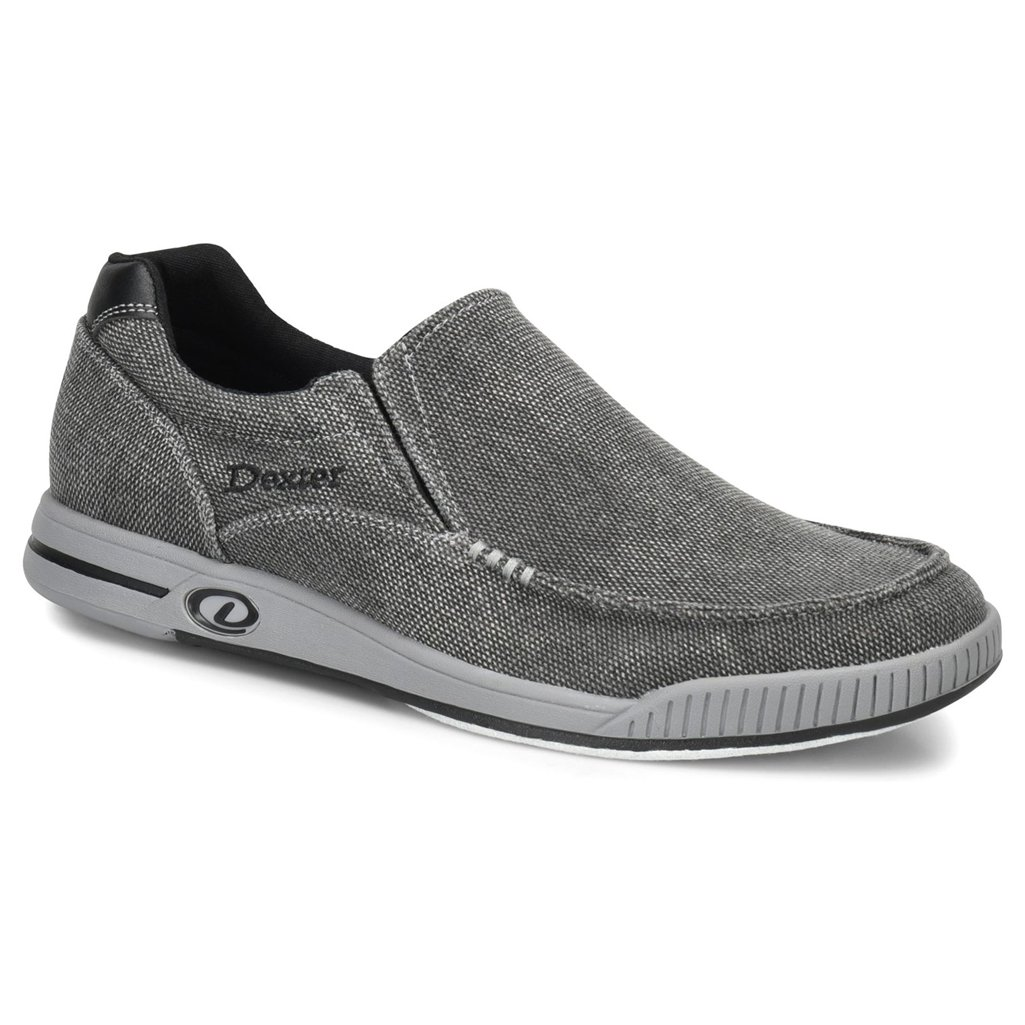 Dexter Mens Kam Bowling Shoes- Charcoal/Grey Dexter Bowling Shoes