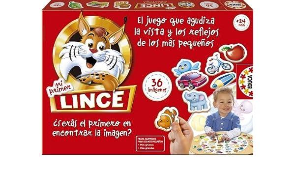 Educa My First Lince by Educa: Amazon.es: Juguetes y juegos