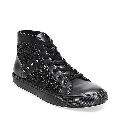 Steve Madden Men's Archie Black Sneaker ...