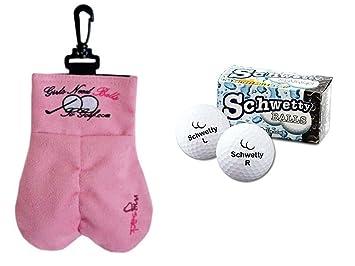 amazon jme designs mysack girlsゴルフボールストレージ袋with