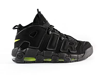 9c12b2b9eb Amazon.com | NIKE Air More Uptempo Mens Basketball Shoes 414962-013 Black  11 M US | Basketball
