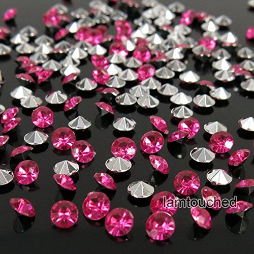 WALLER PAA 2000pcs 4.5mm Wedding Decoration Crystals Diamond Table Confetti Party Supplies (Silver Hot (Party City Waterford Lakes)