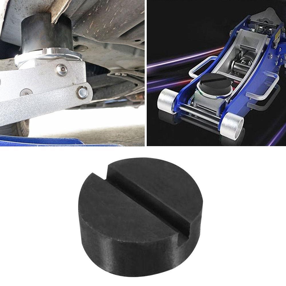 SODIAL Auto disco disco pad auto veicolo Jack Jack Pad telaio Protector Rail piano Jack guardia adattatore strumento sollevamento martello
