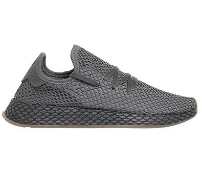 adc99742963 Adidas Deerupt Runner Mens Sneakers Grey  Amazon.com.au  Fashion