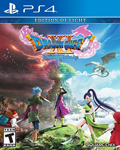 PS4 DRAGON QUEST XI: Echoes of an Elusive Age � Edition of Light