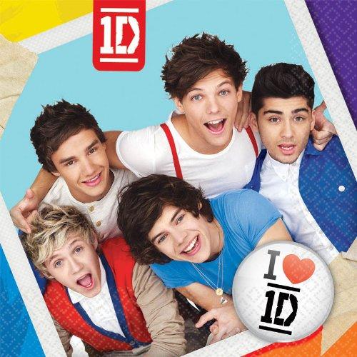 One Direction Large Napkins -