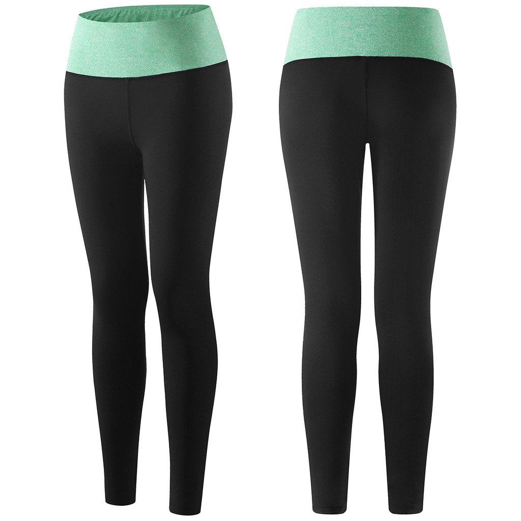 e9626ccbbf Wantdo Women's Running Long Leggings Quick-Dry Compression Power Flex Yoga  Pants at Amazon Women's Clothing store: