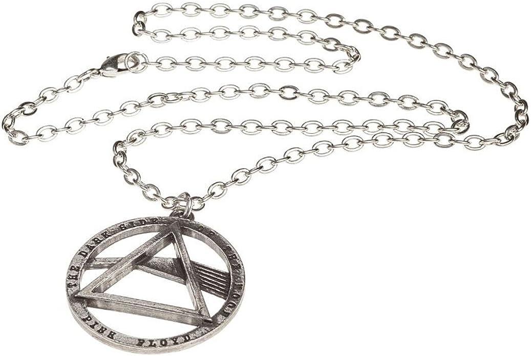 Rocks Alchemy Pink Floyd Dark Side /Étain Collier avec pendentif
