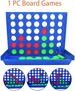 Comprar juego de mesa: Lifreer 1 PC Tablero Juegos 4 en una Fila Póngase en Fila Estrategia Tablero Juegos Familia Divertido Adecuado para Niños Chicos y Chicas