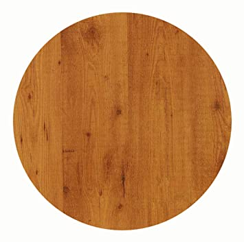 Amazonde Werzalit Hochwertige Tischplatte Pinie Runde Form 80 Cm Bistrotisch Bistrotische Gartentisch Gastronomie
