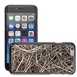 """Hot Style Cell Phone PC Hard Case Cover // M00152524 Hay Dry Dried Grass Background // Apple iPhone 6 4.7"""""""