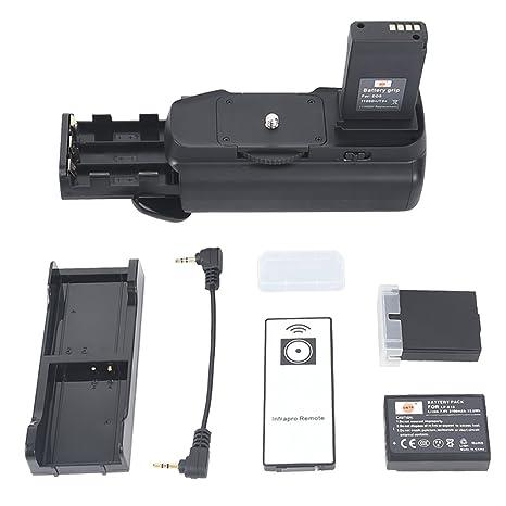DSTE® Remoto Vertical Batería Apretón Titular para Canon EOS 1100D ...
