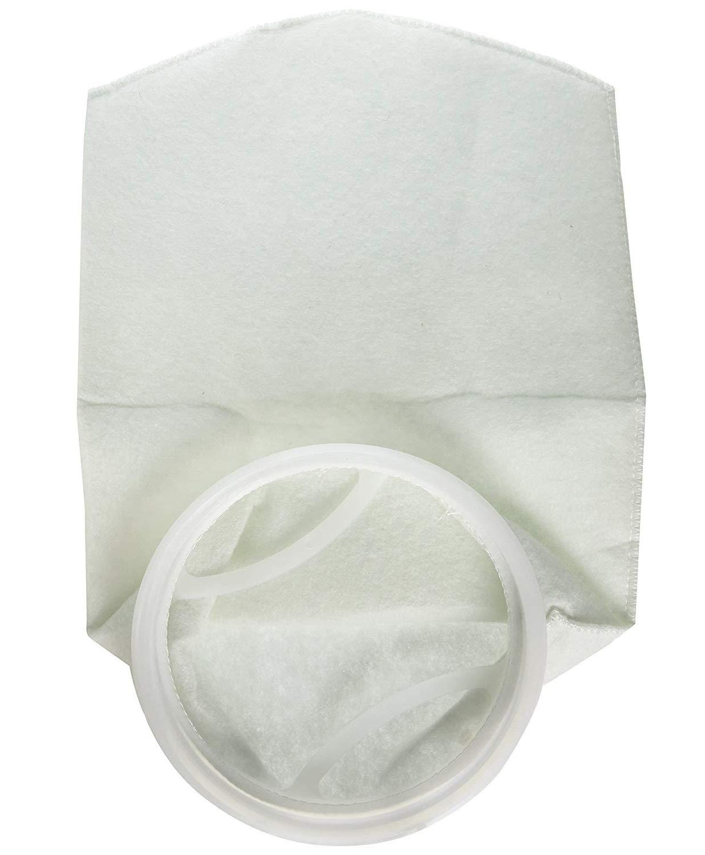 5& x3BC;m((5 Micron)) 5Pcs 7 x32  5μm Polypropylene Mesh Filter Socks Filter Bags Reusable for Aquarium Pool (5 Micron)
