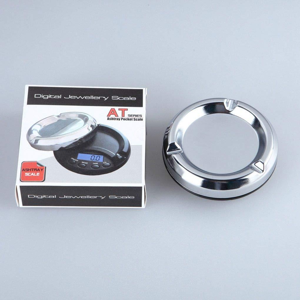 0.1g Morza Digitale Pr/äzisionstaschenwaage Aschenbecher Stil Schmuck Waagen Gems Stone-Skala 100g 0.01g 200g 0.01g 500g