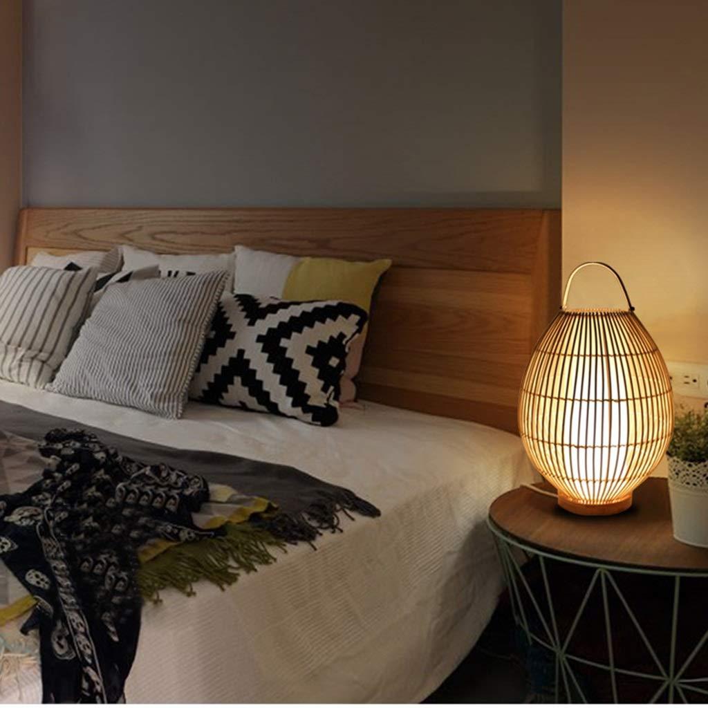 RXY-LAMP Creative Simple Japanese Chandelier Handmade Home Desktop Bedside Decorative Lighting Night Light Feeding Lamp (Size : 50cm)