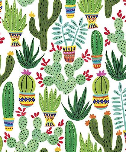 - Sedona Desert Cactus Gift Wrap Flat Sheet - 24