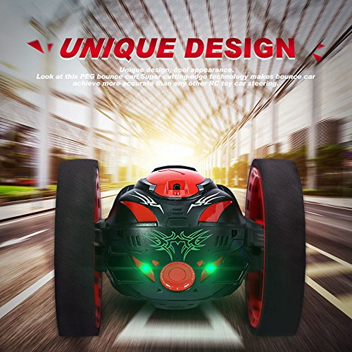 Wireless Remote Control Jumping RC Toy Cars for Youngs