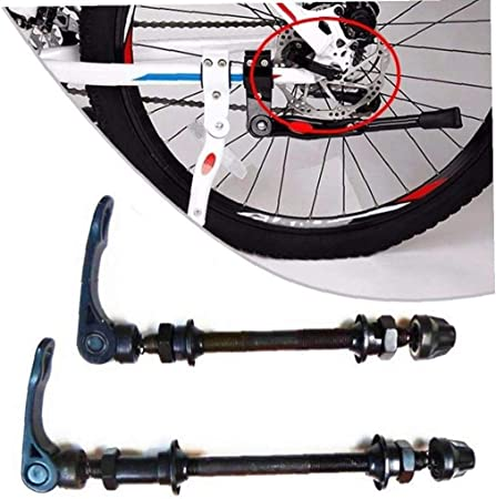 Deanyi Eje Bicicleta de liberación rápida en el Eje Frontal Trasera de Bicicletas Eje de la