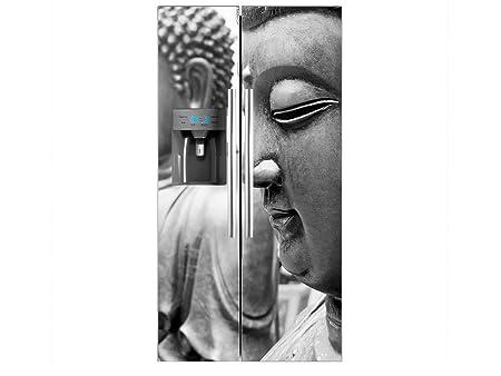Vinilo Frigorífico Americano Budas | 91x179cm | Varias Medidas ...