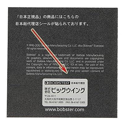 Bobster T4583 Bugeye Goggles, Black Frame/Amber Lens: Clothing