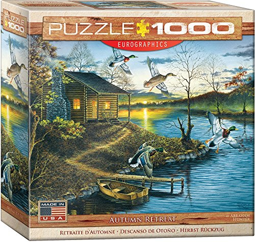 EuroGraphics Abraham Hunter Autumn Retreat Puzzle (1000 ()