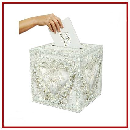 Amazon Com Wedding Gift Box Card Money Holder Bridal Envelope