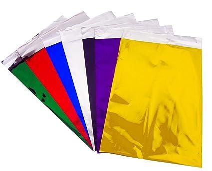 Bolsas de regalo metálicas de papel de aluminio, 7 colores ...