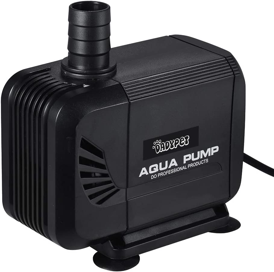DADYPET Bomba de Agua 40W 3000L/H,Bomba para Acuario Bomba Sumergible Pare Jardin Estanque Ultra Silencioso (Negro)