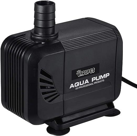 DADYPET Bomba de Agua 40W 3000L/H,Bomba para Acuario Bomba Sumergible Pare Jardin Estanque Ultra Silencioso (Negro): Amazon.es: Productos para mascotas