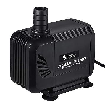 DADYPET Bomba de Agua, Bomba Estanque Acuario Jardin Sumergible para Peces 40W 3000L / h (Negro): Amazon.es: Productos para mascotas