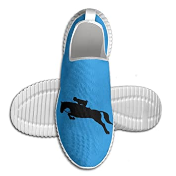 Horse Show Jumping Lightweight Breathable Casual Sports Shoes Fashion Sneakers Shoes