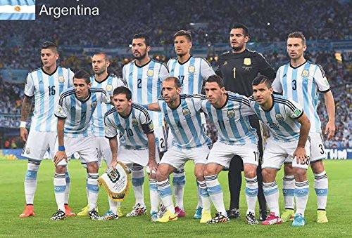 - Suree Shop J-4790 Argentina National Football Team -Soccer Poster Size 24
