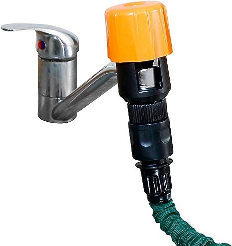 REGNO UNITO Adattatore per rubinetto dell/'acqua universale Connettore Rubinetto Cucina TUBO DA GIARDINO RACCORDO TUBO